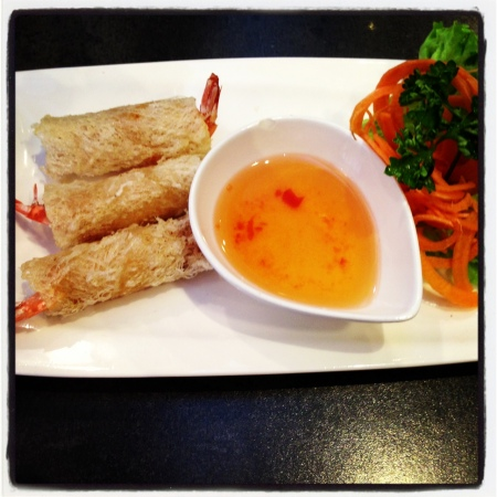 I love Vietnamese rolls - any whether they are cold or warm.